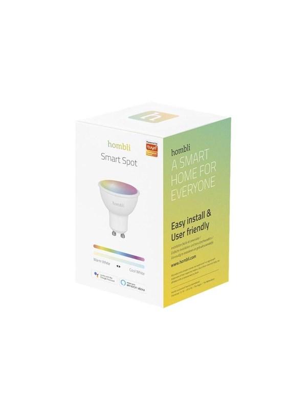 Hombli LED pære - LED light bulb with reflector - GU10 - 4.5 W - RGB/warm to cool white light GU10