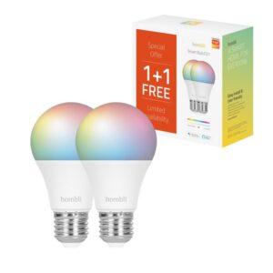 Hombli Smart Bulb (9W) RGB + CCT Promo Pack