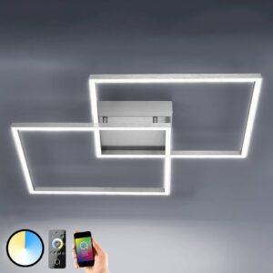 Inigo - LED loftslampe med fjernbetjening 53 cm