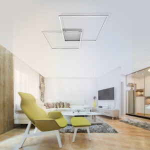Inigo - LED loftslampe med fjernbetjening 68 cm