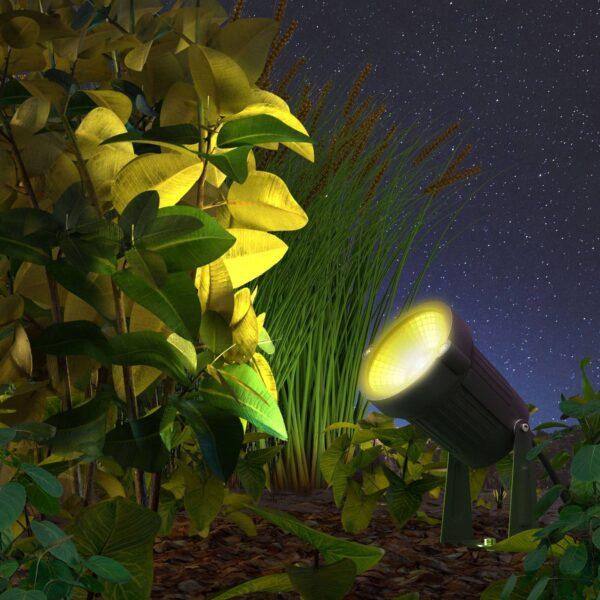 Innr Smart Outdoor udendørs LED-spot, pakke med 3