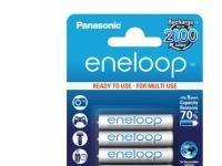 Insmat Eneloop AAA 750 mAh, Rechargeable battery, 4 stk, 750 mAh, Sølv, AAA