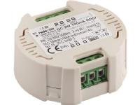 Jolly dæmpbar LED-driver til 700mA, 1-9W. Passer i Euro dåse, dæmpbar via Push (230V) eller 1-10V. Hukommelsesfunktion. IP20