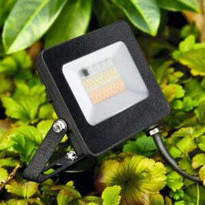 Kingston udendørs LED-spot med jordspyd, RGBW