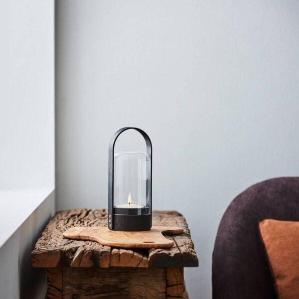 LE KLINT Candle Light LED-lanternelampe, sort