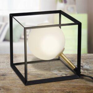 LED-bordlampe 3168922 i markant terningdesign