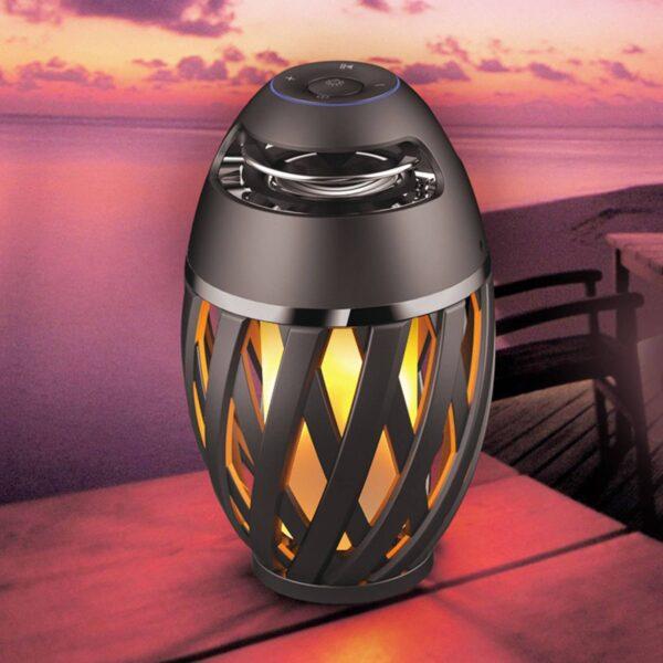 LED dekorationslampe Stream med højttaler