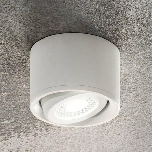 LED-downlight Anzio, vippelig, hvid