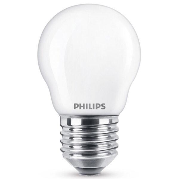 LED dråbepære E27 2,2W, varmhvid , opal