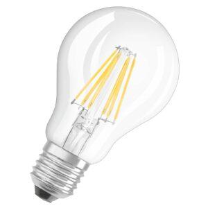 LED-filamentpære E27 7W 2.700K, kan dæmpes