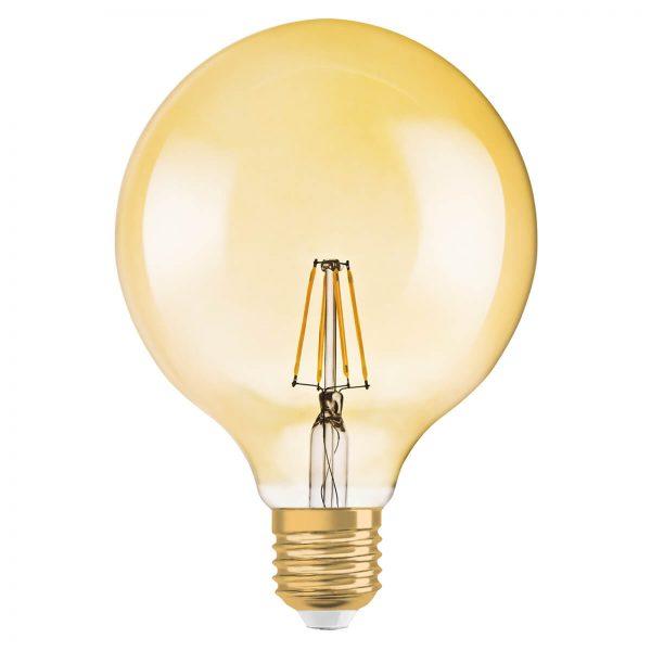 LED globepære Gold E27 2,8W varmhvid 220 lumen