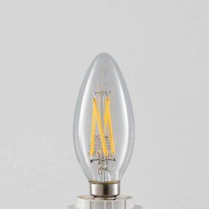 LED-pære E14 4W 2.700K kerte filament dæmpbar