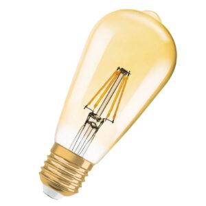 LED-pære Gold E27 2,5W varmhvid 225 lumen