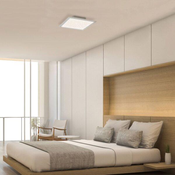 LED-panel stjernehimmel 7390, 29 x 29 cm