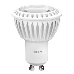 LED-reflektor GU10 MR16 6W 927 35°, kan dæmpes