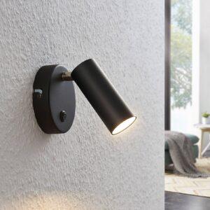 LED-spotlight Camille m. kontakt, sort, 1 lyskilde