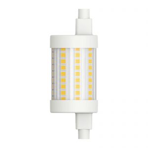 LED-stav R7s 78,3 mm 8 W varmhvid