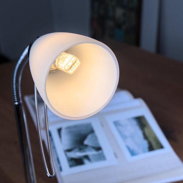 LED-stiftpære G9 3,8W varmhvid, 470 lm