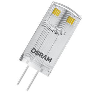 LED-stiftsokkelpære G4 0,9W 827, 2 stk.