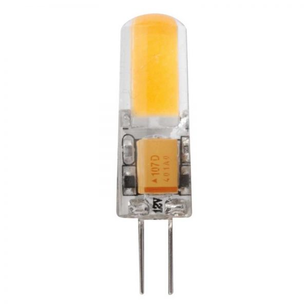 LED-stiftsokkelpære G4 1,8W, varmhvid