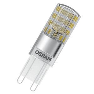 LED-stiftsokkelpære G9 2,6W 827, 2 stk. karton