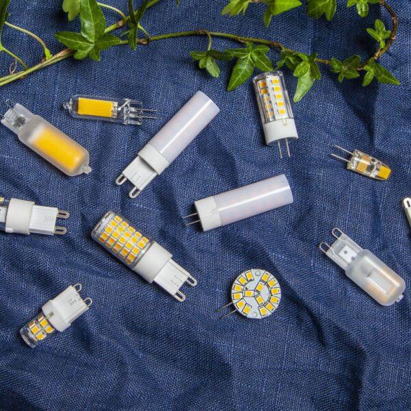 LED-stiftsokkelpære G9 3,8W 4.000K