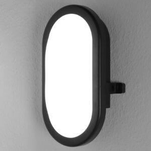 LEDVANCE Bulkhead udendørs LED-væglampe 11W sort