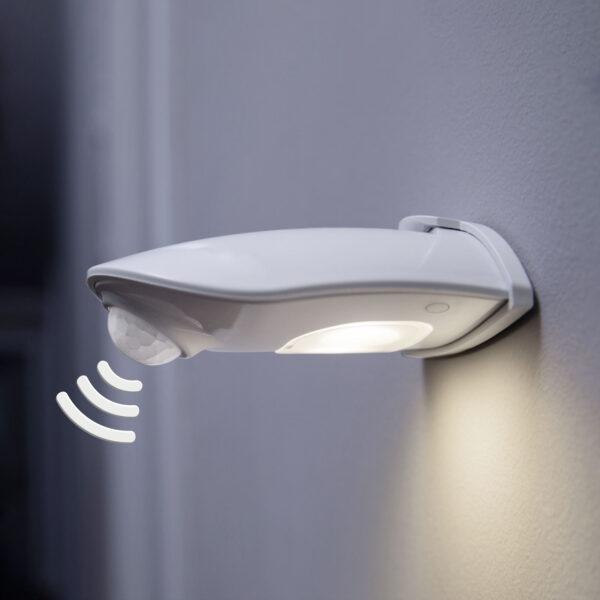 LEDVANCE Door Down LED udendørs væglampe, hvid