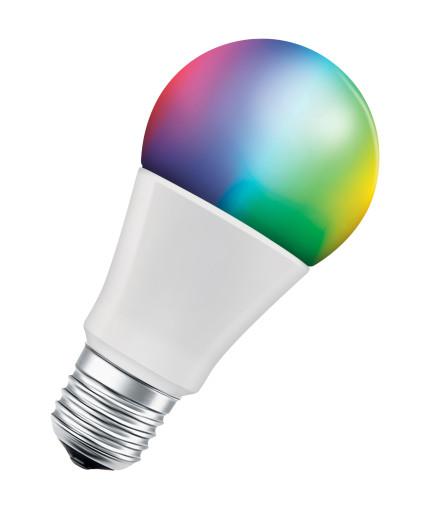 LEDvance SMART + Standard 9W RGBW E27, WiFi - 3-pak