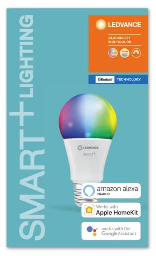 LEDvance Smart+ Multicolor E27 Standardpære - Bluetooth
