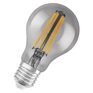 LEDvance Smart+ Standard 6W filament E27, bluetooth - røgfarvet