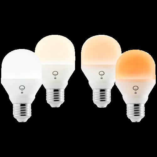 LIFX Mini Day&Dusk LED pære - 4 stk. (E27)