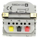 LK FUGA - Lysdæmper LED 250 TOUCH IR med korrespondance, 1 modul, uden afdækning/tangent
