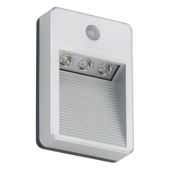 Lero batteridrevet udendørs LED-væglampe, sensor