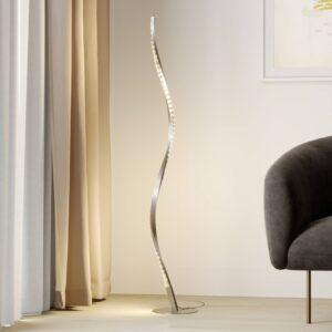 Lindby Criostal LED-gulvlampe med farveskift