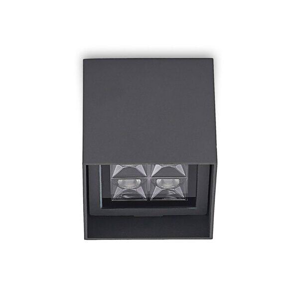 Lindby Eveta LED-loftlampe til udendørs brug