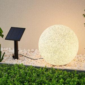 Lindby Hamela LED-dekolampe, solcelle, RGB, 30 cm