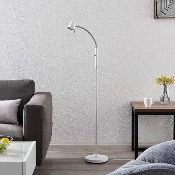 Lindby Heyko LED-gulvlampe, dæmpbar, 1 lyskilde