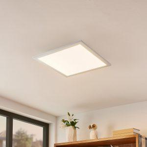 Lindby Kjetil LED-loftpanel 40 x 40 cm