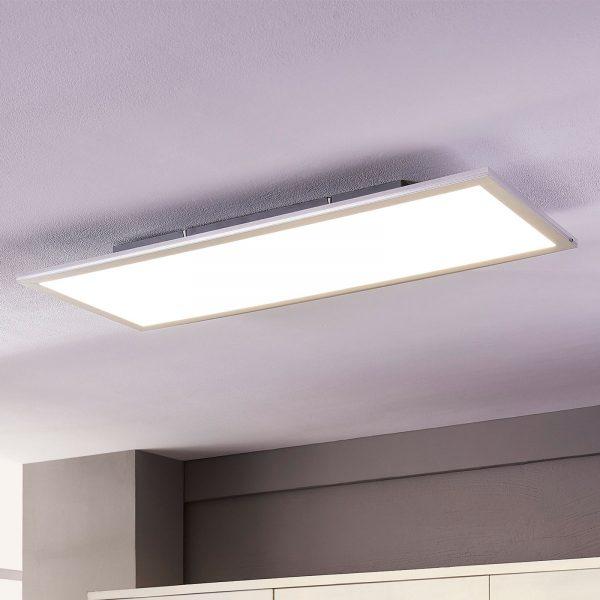 Lindby Livel LED-panel, 4.000K, 80 cm x 30 cm