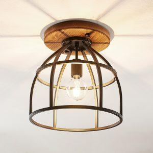 Lindby Maximilia loftlampe med bur, 34 cm