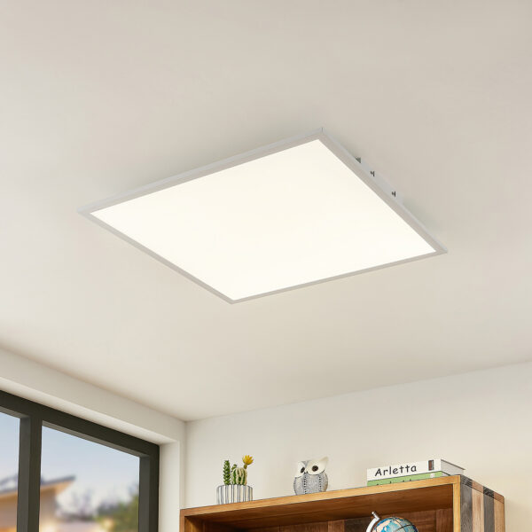 Lindby Quais LED-panel 4.000K, 60x60 cm