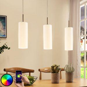 Lindby Smart-LED-hængelampe Felice, app-styret