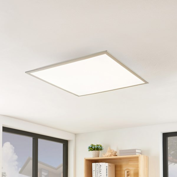Lindby Stenley LED-panel, 4.000 K, 59 cm x 59 cm
