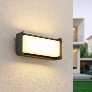 Lucande Babet udendørs LED-væglampe