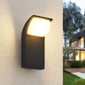 Lucande Tinna udendørs LED-væglampe