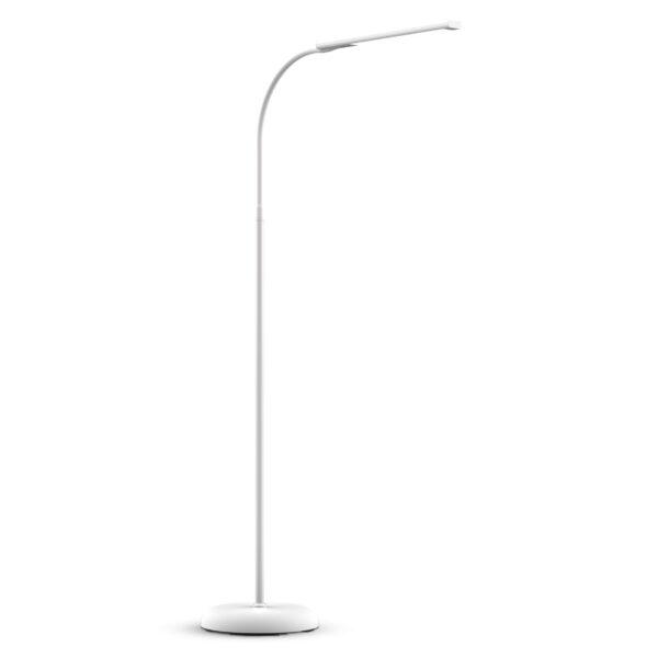 MAULpirro LED-gulvlampe dæmpbar, hvid