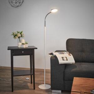 Milow - LED gulvlampe med svanehals