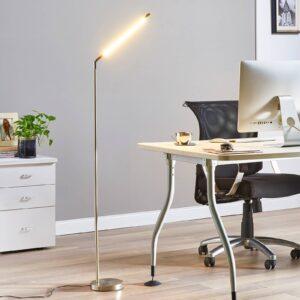 Minimalistisk LED-gulvlampe Jabbo til læsning