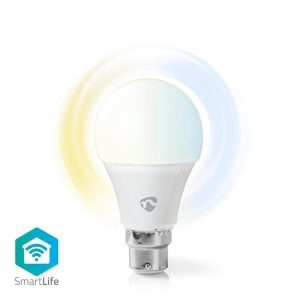 Nedis WiFi Smart LED B22 Bulb Warm to Cool White